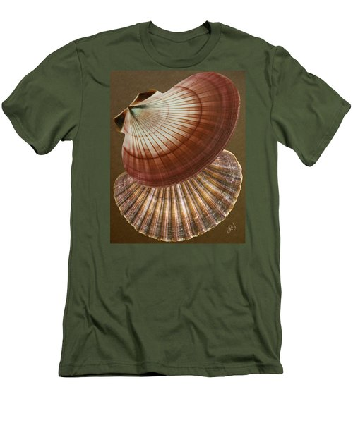 Men's T-Shirt (Athletic Fit) featuring the photograph Seashells Spectacular No 53 by Ben and Raisa Gertsberg