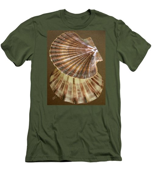 Men's T-Shirt (Athletic Fit) featuring the photograph Seashells Spectacular No 54 by Ben and Raisa Gertsberg