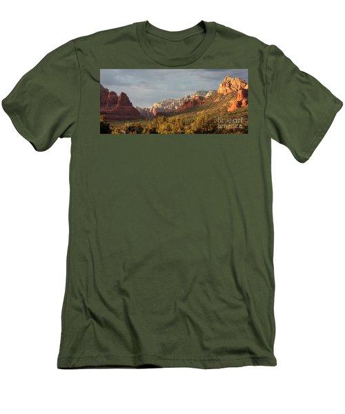 Sedona Sunshine Panorama Men's T-Shirt (Athletic Fit)