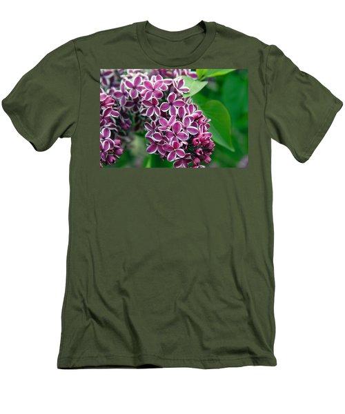 Sensation Lilac Men's T-Shirt (Slim Fit) by Richard Engelbrecht