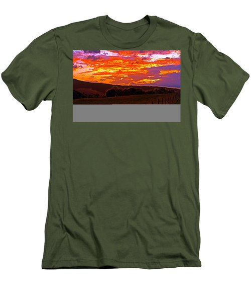 September Smokies Sunrise Men's T-Shirt (Athletic Fit)
