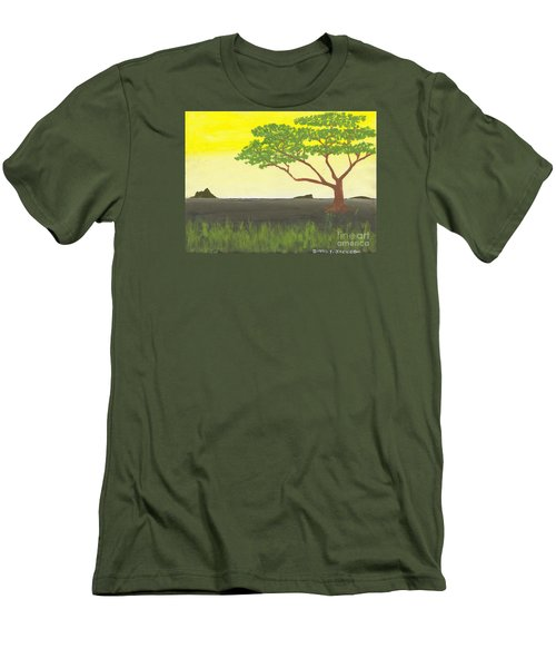 Serengeti Men's T-Shirt (Athletic Fit)