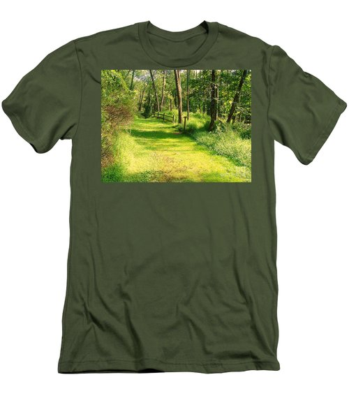 Men's T-Shirt (Slim Fit) featuring the photograph Serenity by Becky Lupe