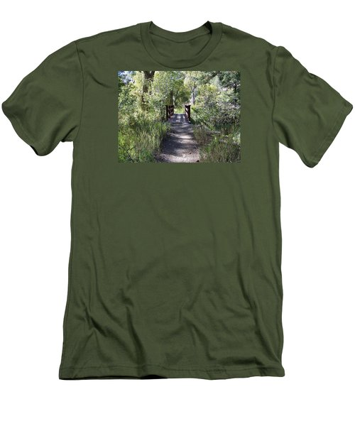 Serenity Men's T-Shirt (Slim Fit) by Sheri Keith