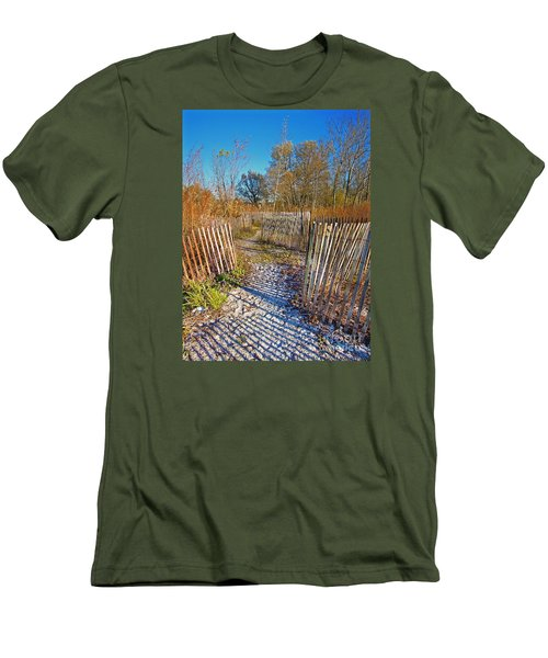 Serenity Trail.... Men's T-Shirt (Slim Fit) by Nina Stavlund