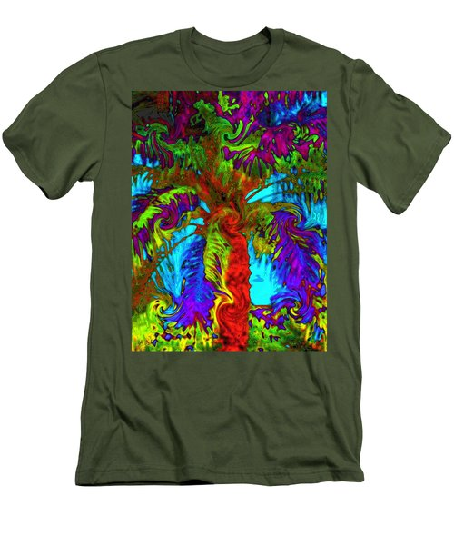 Shade Trees On Venus Men's T-Shirt (Athletic Fit)