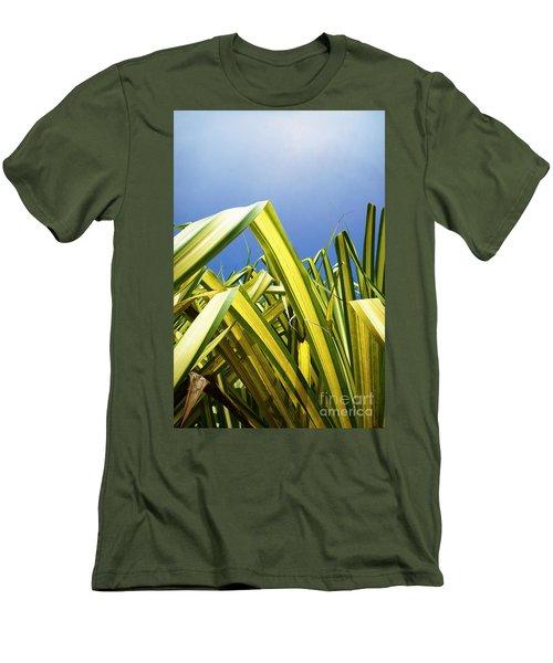 Men's T-Shirt (Slim Fit) featuring the photograph Shape Of Hawaii 9 by Ellen Cotton