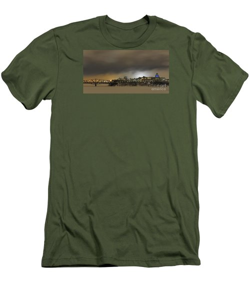 Shimmer Of Pearl.. Men's T-Shirt (Athletic Fit)