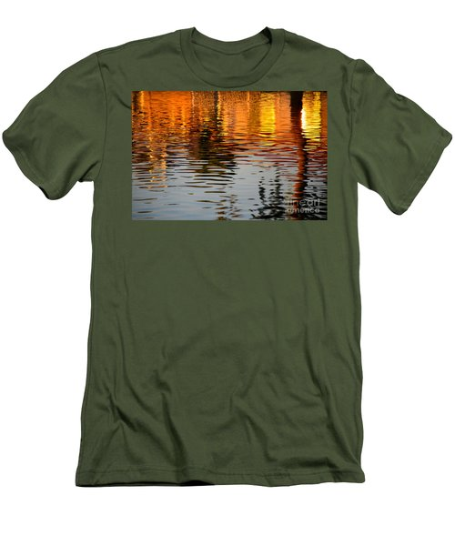 Shimmering Waters Men's T-Shirt (Athletic Fit)