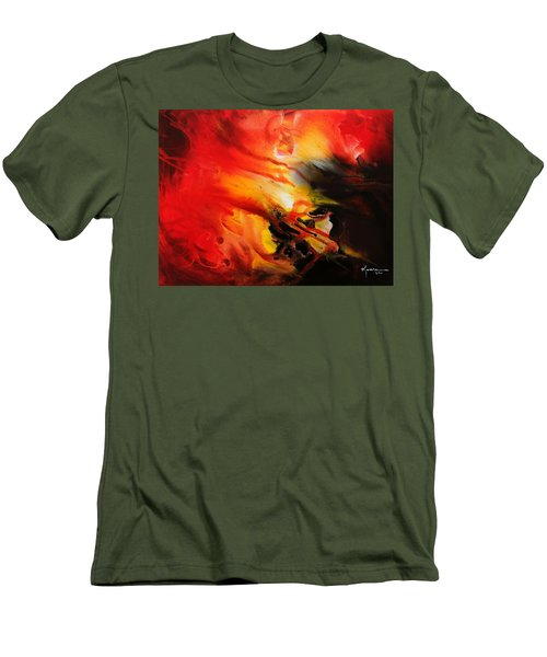 Shooting Star Men's T-Shirt (Slim Fit) by Kume Bryant