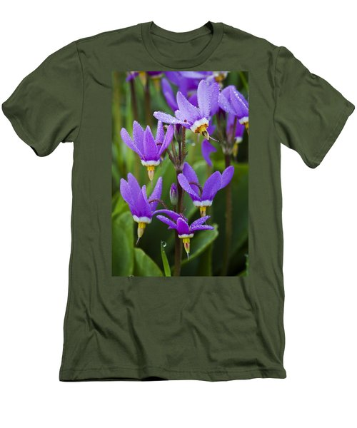 Men's T-Shirt (Slim Fit) featuring the photograph Shooting Stars by Sonya Lang