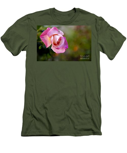Men's T-Shirt (Slim Fit) featuring the photograph Short Lived Beauty by David Millenheft