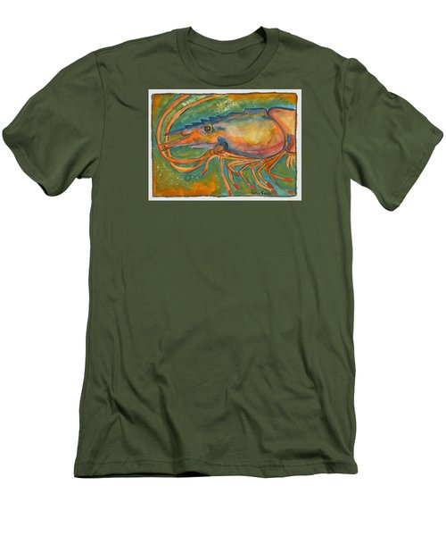 Shrimp Head Men's T-Shirt (Athletic Fit)