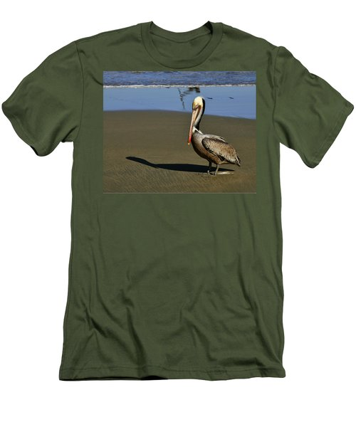 Shy Pelican Men's T-Shirt (Athletic Fit)