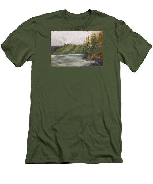 Sitka Mist Men's T-Shirt (Athletic Fit)