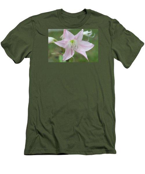 Six Point Flower Men's T-Shirt (Athletic Fit)