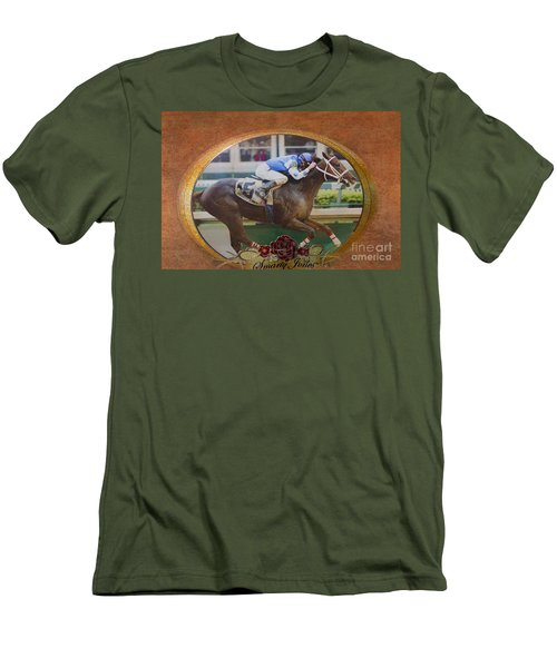 Smarty Jones Men's T-Shirt (Athletic Fit)