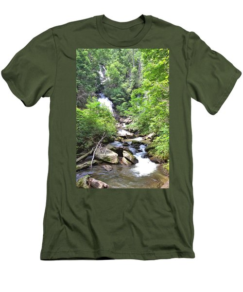 Smith Creek Downstream Of Anna Ruby Falls - 3 Men's T-Shirt (Athletic Fit)
