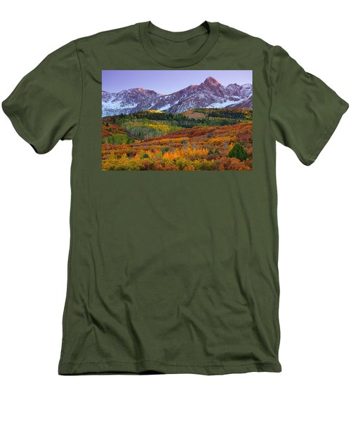 Sneffels Sunrise Men's T-Shirt (Athletic Fit)