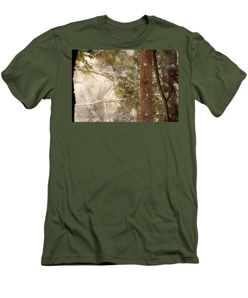 Snowfall Men's T-Shirt (Athletic Fit)