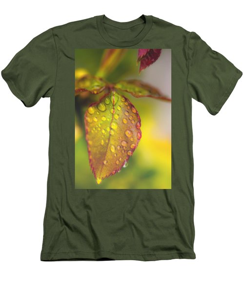 Soft Morning Rain Men's T-Shirt (Athletic Fit)