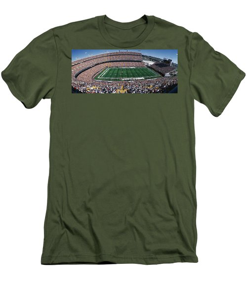 Sold Out Crowd At Mile High Stadium Men's T-Shirt (Athletic Fit)