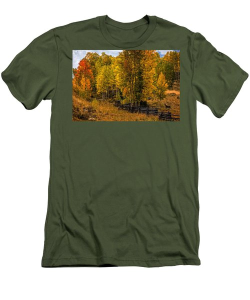 Men's T-Shirt (Slim Fit) featuring the photograph Solitude by Ken Smith