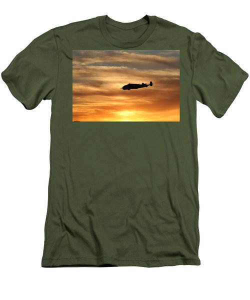 Men's T-Shirt (Slim Fit) featuring the photograph Solo by David S Reynolds