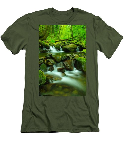 Sometimes Its Best To Sit And Dream Men's T-Shirt (Athletic Fit)
