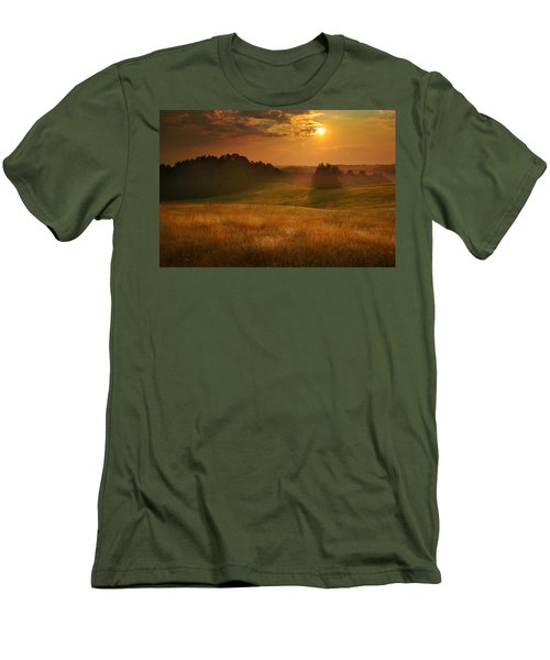 Somewhere In A Dream Men's T-Shirt (Slim Fit) by Rob Blair