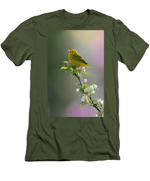 Song Of Spring Men's T-Shirt (Athletic Fit)