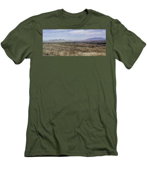 Sonoita Arizona Men's T-Shirt (Slim Fit) by Lynn Geoffroy