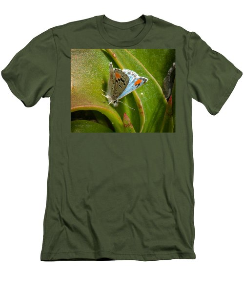 Sonoran Blue Men's T-Shirt (Slim Fit) by Jim Thompson