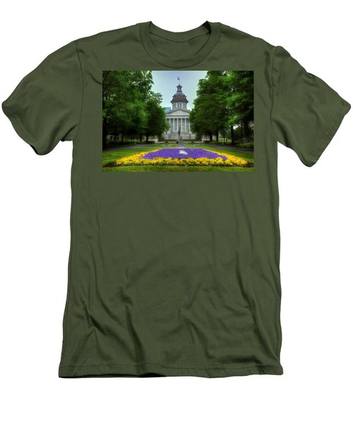 South Carolina State House Men's T-Shirt (Slim Fit) by Michael Eingle