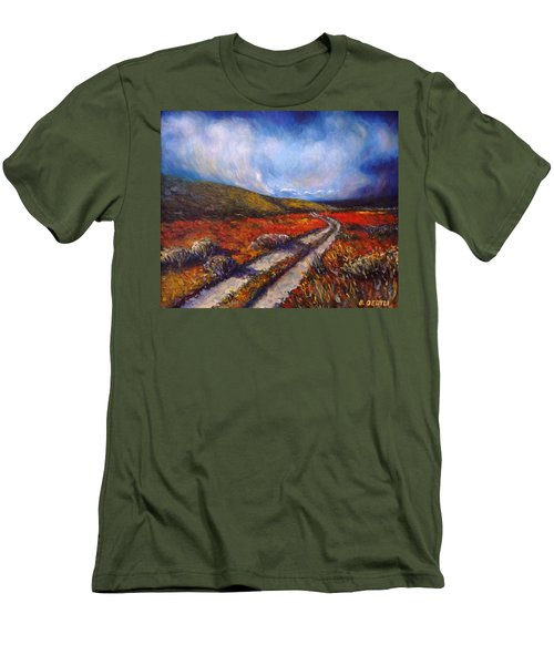 Southern California Road Men's T-Shirt (Athletic Fit)