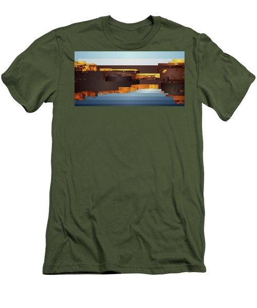 Southwest Sunrise 1 Men's T-Shirt (Athletic Fit)