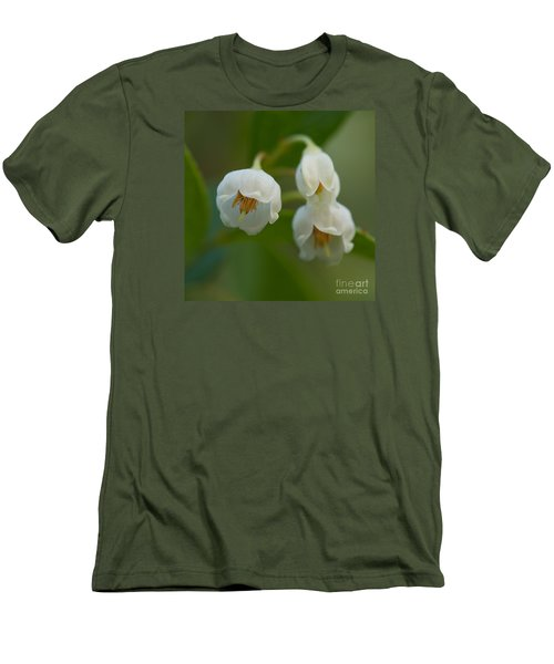 Sparkleberry Trio Men's T-Shirt (Slim Fit) by Paul Rebmann