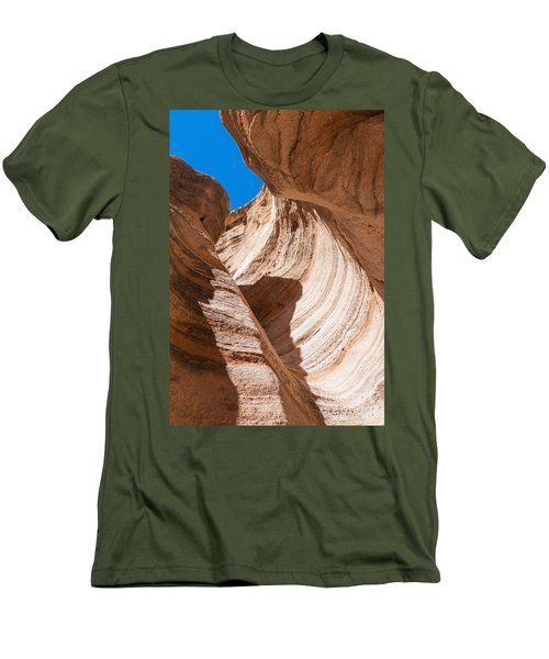 Spiral At Tent Rocks Men's T-Shirt (Athletic Fit)