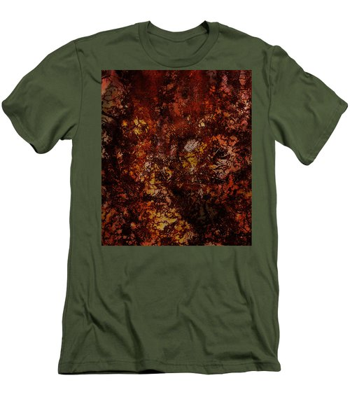 Splattered  Men's T-Shirt (Athletic Fit)