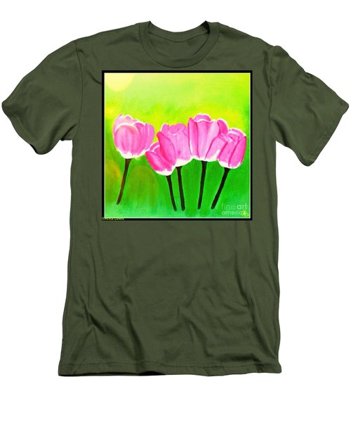 Spring I Men's T-Shirt (Athletic Fit)