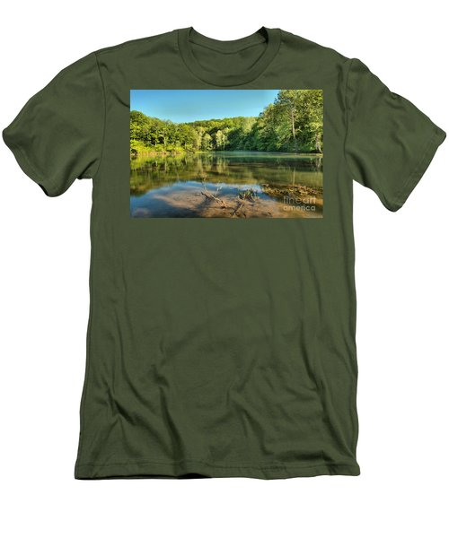 Spring Mill Lake Men's T-Shirt (Athletic Fit)