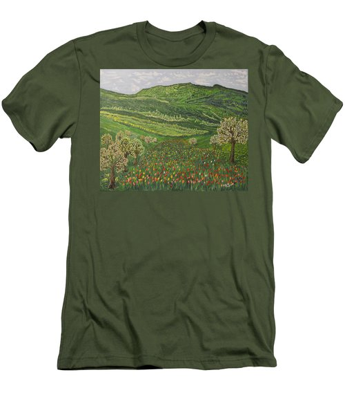 Spring Remembrances Men's T-Shirt (Athletic Fit)