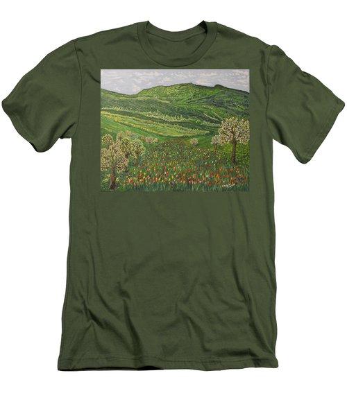 Spring Remembrances Men's T-Shirt (Slim Fit) by Felicia Tica