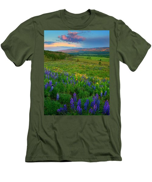 Spring Storm Passing Men's T-Shirt (Athletic Fit)