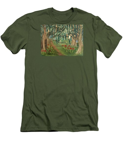 Spring Trail Men's T-Shirt (Athletic Fit)