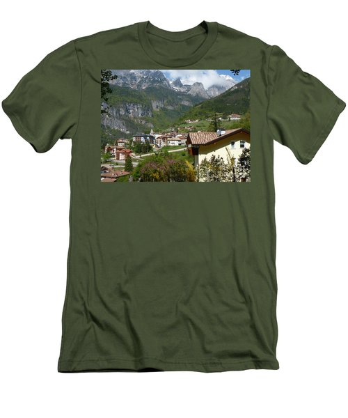 Springtime In Molveno - Italy Men's T-Shirt (Slim Fit) by Phil Banks