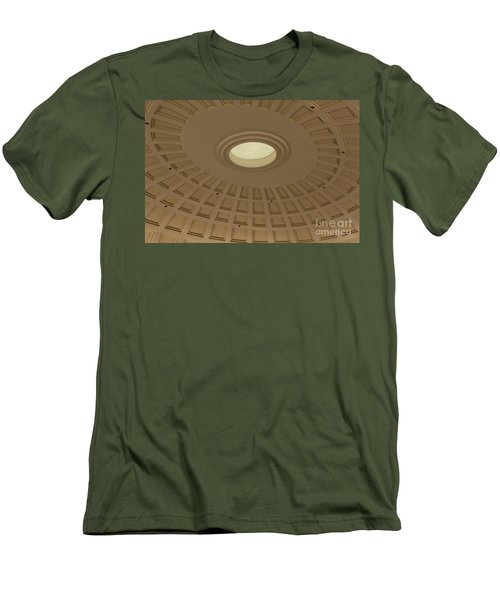 Men's T-Shirt (Slim Fit) featuring the photograph Squares N Rectangles by Chris Thomas