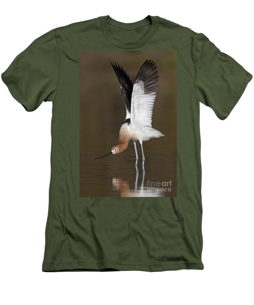 Men's T-Shirt (Slim Fit) featuring the photograph Sstretchhh by Bryan Keil