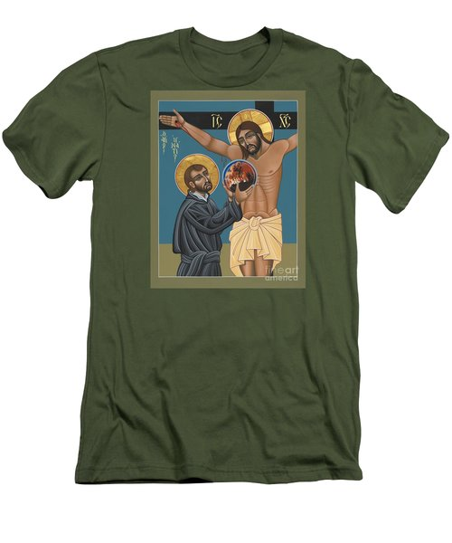 St. Ignatius And The Passion Of The World In The 21st Century 194 Men's T-Shirt (Slim Fit) by William Hart McNichols