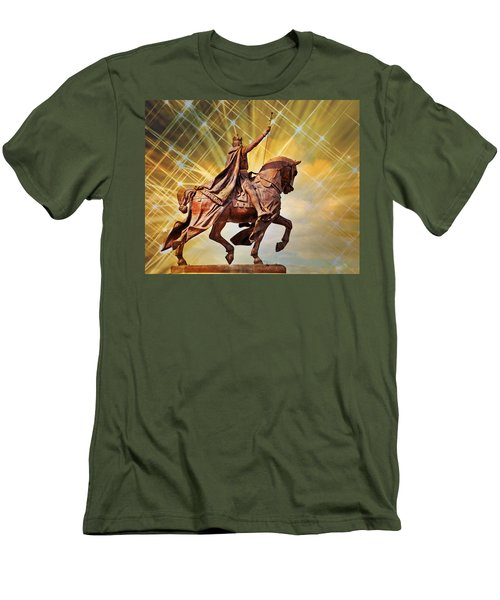 Men's T-Shirt (Slim Fit) featuring the photograph St. Louis 5 by Marty Koch